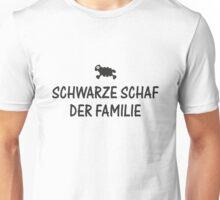 Schwarze Schaf der Familie Unisex T-Shirt
