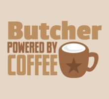 Butcher powered by coffee by jazzydevil