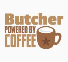 Butcher powered by coffee Kids Tee
