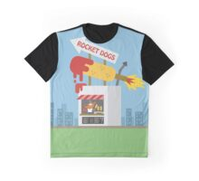 Snack Shacks #3 - Rocket Dogs Graphic T-Shirt