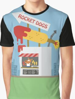 Snack Shacks #3 - Rocket Dogs Graphic T-Shirt