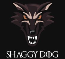 Direwolf Shaggy Dog T-Shirt