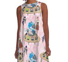 f e e d m e A-Line Dress
