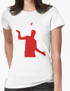 Daniel Sturridge (Red) Womens Fitted T-Shirt