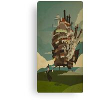 Howl Moving Castle dangers Canvas Print