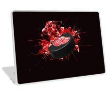 Detroit Red Wings Puck Laptop Skin