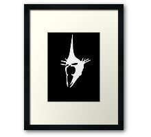 Witch-King of Angmar (White) Framed Print