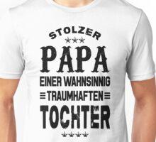 Stolzer Papa Tochter  Unisex T-Shirt