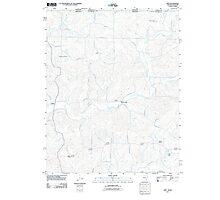 USGS TOPO Map Arkansas AR Gepp 20110801 TM Photographic Print
