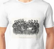Grant and his generals distinguished commanders, in the campaign against Richmond - 1865 Unisex T-Shirt