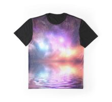 Abstract Universe Graphic T-Shirt