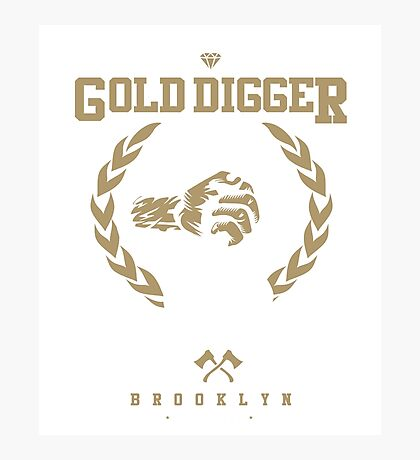 Gold Digger Photographic Print