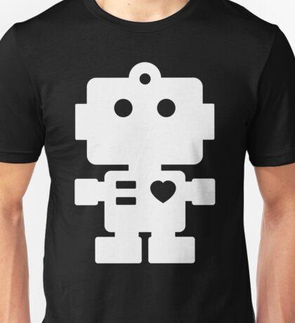 Robot - black & white Unisex T-Shirt