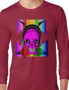 Skulls, Guitars and Rock and Roll! Long Sleeve T-Shirt