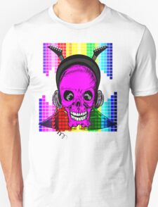 Skulls, Guitars and Rock and Roll! Unisex T-Shirt
