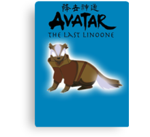Avatar: The Last Linoone Canvas Print