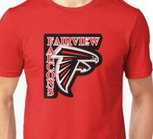 Fairview Middle School FALCON - opening Unisex T-Shirt