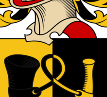 Jager Coat of Arms (Austrian) Sticker
