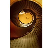 Lighthouse Stairway Photographic Print