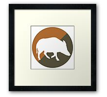 Uncharted 4 - Road Hogg Rentals Logo Framed Print
