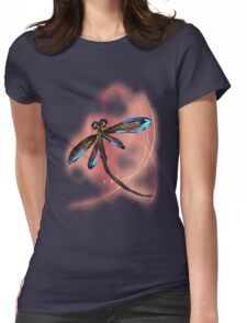 Dragonfly Sunset Womens Fitted T-Shirt