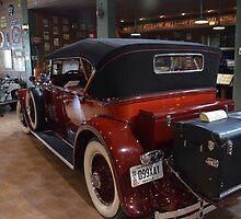 1929  Packard      Dual Cowl Phaeton  (Rear View) by BearheartFoto