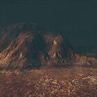 When the last light warms the rocks by GSwindlehurst