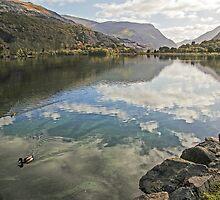 Llyn Padarn Snowdonia by ten2eight