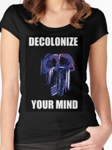decolonize your mind Women's Fitted Scoop T-Shirt