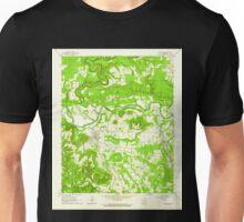 USGS TOPO Map Arkansas AR Pangburn 259337 1962 24000 Unisex T-Shirt
