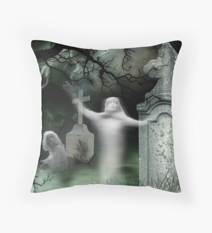 Buried Alive ! Throw Pillow