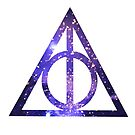 Deathly Hallows (Purple) by Winter Enright