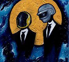 Daft Punk in Space by FoxyPia