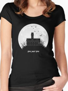 Home Sweet Home - Haunted House Women's Fitted Scoop T-Shirt