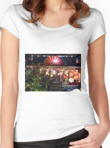 Illumination Night Women's Fitted Scoop T-Shirt