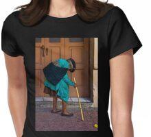 Bent, But Not Broken Womens Fitted T-Shirt
