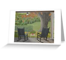 Afternoon with You Greeting Card