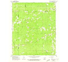 USGS TOPO Map Arkansas AR Pine Bluff NW 259394 1962 24000 Photographic Print