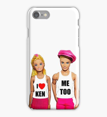 I Love Ken! (Me Too) iPhone Case/Skin