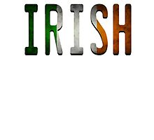 IRISH Photographic Print