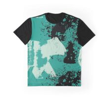 Bear On The Moon Graphic T-Shirt
