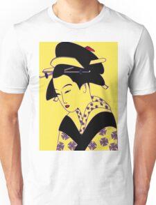 Geisha Portrait Unisex T-Shirt
