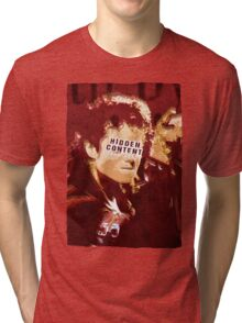 The king of Pop in concert Tri-blend T-Shirt
