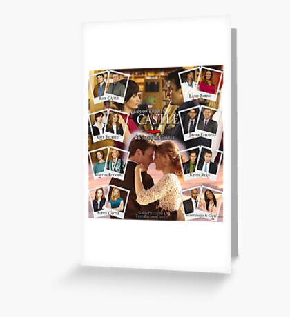 6 Years of Castle Greeting Card