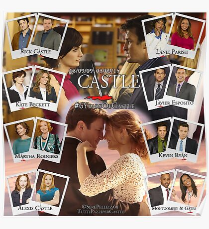 6 Years of Castle Poster