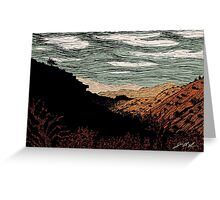 Phantom Horse Valley Greeting Card