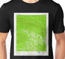 USGS TOPO Map Arkansas AR Potter 260255 1958 62500 Unisex T-Shirt