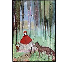 """Little Red Riding Hood"" by Harry Clarke Photographic Print"