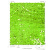 USGS TOPO Map Arkansas AR Umpire 260337 1959 62500 Photographic Print