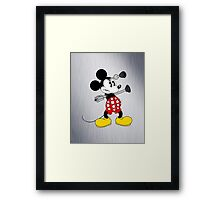 Dalek Mickey Framed Print